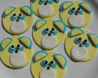 Special Edible Characters Cupcake Toppers
