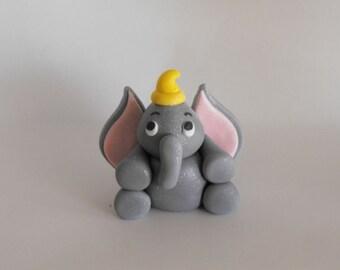 Edible Dumbo Cake Topper