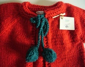 classic cardigan sweater for a sweet baby