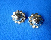Earrings Vintage Coro Goldtone Clipback Clip Back Costume Jewelry