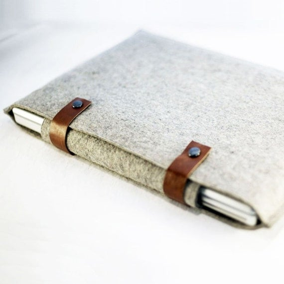 15 Inch Laptop Sleeve - Double Snap Design