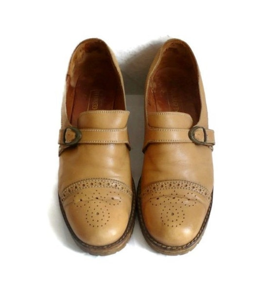 ST GERMAIN French Vintage Leather Oxford