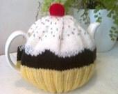 Yellow Cupcake Tea Cosy