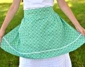 Colleen - Vintage Mint Green Apron