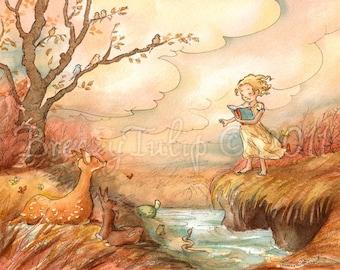 The Storyteller - Art Print