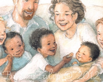 For This Child We Prayed - Art Print