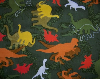 Shopping Cart Safety Harness - Dinosaurs Dino Camo wrap and orange strap