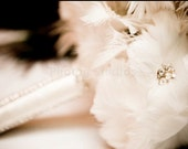 SALE As FEATURED on TLC's Four Weddings, The Gina Feather Bouquet Made to Order for you
