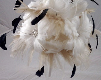 The Marissa Feather Bouquet Made to Order for you