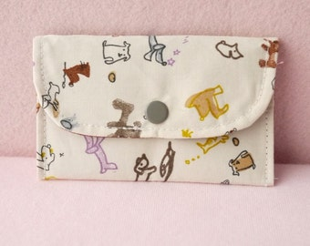 Little Dachshund Mini Snap Wallet