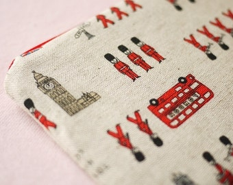 London Town Mini Zipper Pouch