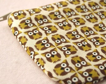 Little Owl pencil (pen) pouch