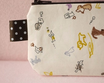 Little Dachshund pencil(pen) pouch