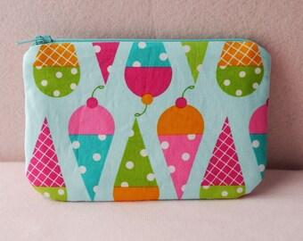 Dessert Party mini zippered pouch