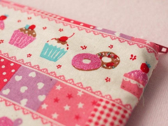 Fancy Cupcake Mini Zipper Pouch