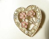 precious heart brooch