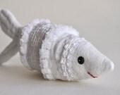 Embellished Fabric Fish