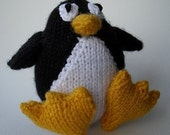 Penguin Knitting Pattern by email