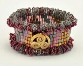Bead Jewelry Kit - Cuff Bracelet - Rosie Trail