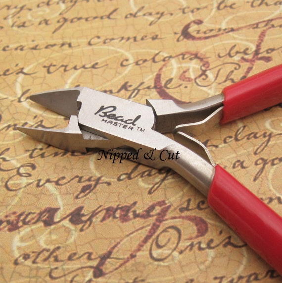 Jewelry Tool - 4 Inch Side Cutter Plier with Spring - Jewelry Making Supplies