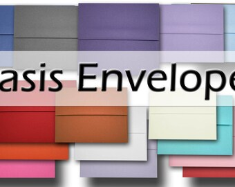BASIS COLORS A2 Envelopes - 25 pack