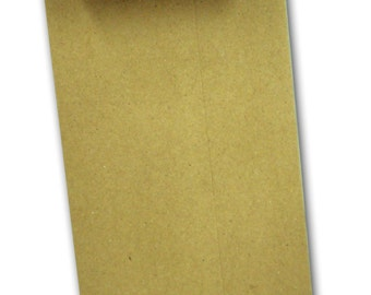 Brown Bag KRAFT  No 10 POLICY Envelopes 50 pack