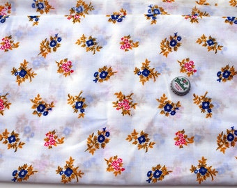 Vintage muslin dress fabric