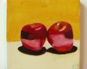 Apple Pair Painting No.14