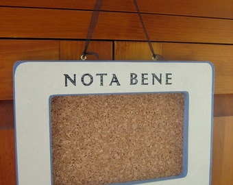 sale - nota bene mini bulletin board