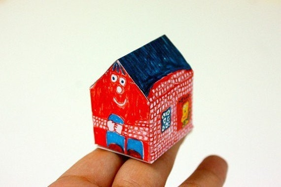 Tiny Houses Post Card Set
