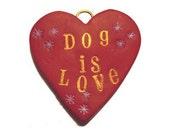 Heart Cute Words Pet ID Tag