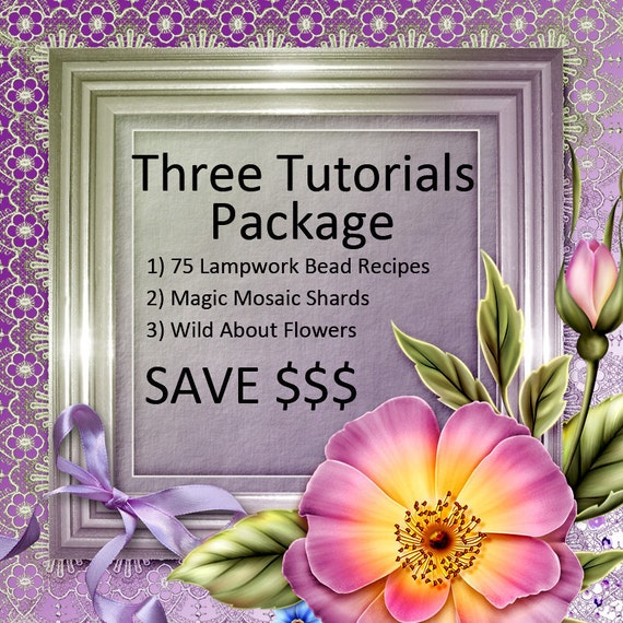 GemsInBloom Three Tutorials Bundle Package Save Money