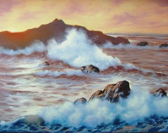 Golden Dawn Seascape
