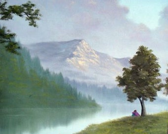 Mountain Painting - Two of Us