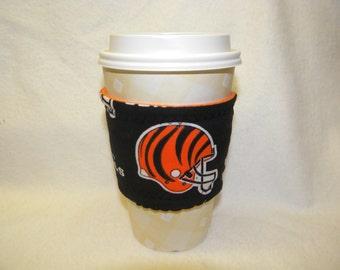Hot Cold Reusable Drink Wrap Cozy  NFL Football Cincinnati Bangals