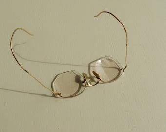 Gold Filled Antique Glass Frames