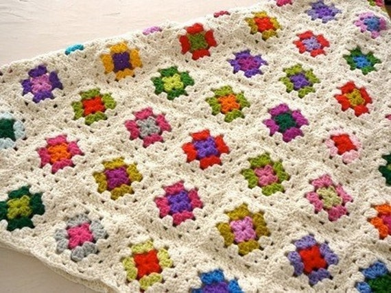 Colorful Afghan Blanket