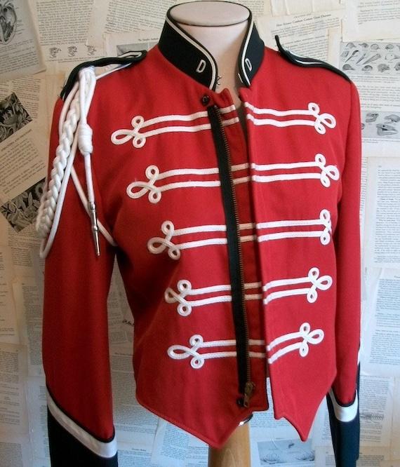 Band Vintage Vintage Marching Band Jacket