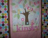 Outdoorsy Personalized Baby Blanket