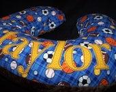 Scholarship, Baby Personalized Nursing Pillow Slipcover