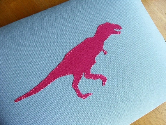 The Mighty (Fuchsia) T-Rex - 13-in Macbook Pro or CUSTOM SIZE