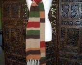Doctor Who Inspired Scarf 9 foot