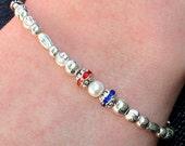 Mothers Sterling Family Bracelet
