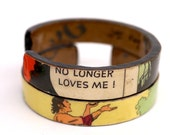 Lost Love - Recycled Paper Bracelets, Set of 2