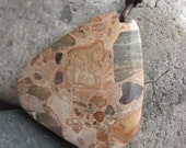 Safari Jasper Triangle Nursing Necklace