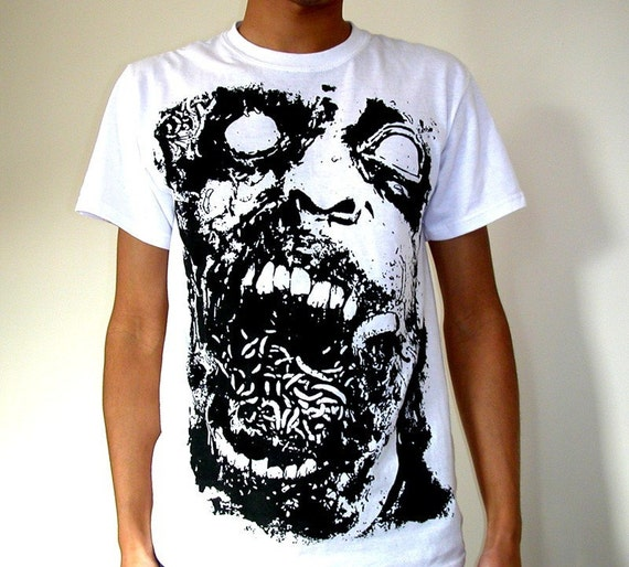 Zombie Tshirt - The Outbreak
