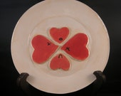 Four Hearts Plate