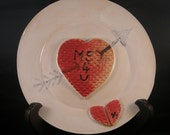 Faded Love Plate