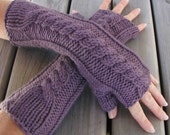 PDF Knitting Pattern Fingerless Gloves - Hand and Arm Warmers
