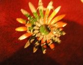 Recycled Can Daisy Broach